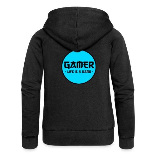 Gamer Life is a Game - Frauen Premium Kapuzenjacke