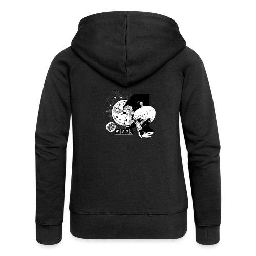 Monkey Et - Frauen Premium Kapuzenjacke