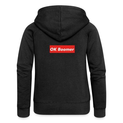 OK Boomer Meme - Women's Premium Hooded Jacket