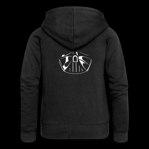 el lado oscuro de la fuerza - Chaqueta con capucha premium mujer