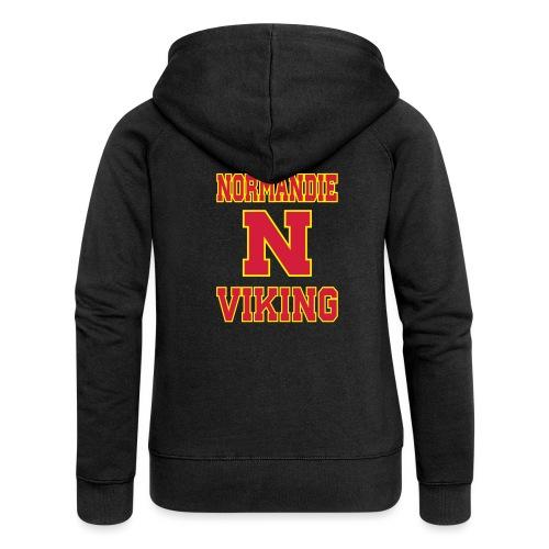 Normandie Viking - Veste à capuche Premium Femme