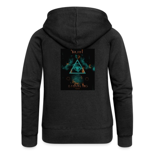 Truth is a beautiful thing - Women's Premium Hooded Jacket