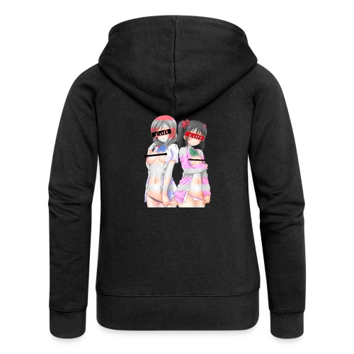 Love Live Maki Nico Kawaiii Undresing Ero - Women's Premium Hooded Jacket