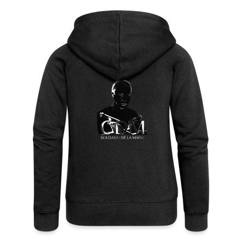 Dunkelwächter - Frauen Premium Kapuzenjacke