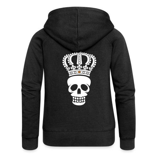 'Custom Dutch' Crowned Skull - Vrouwenjack met capuchon Premium