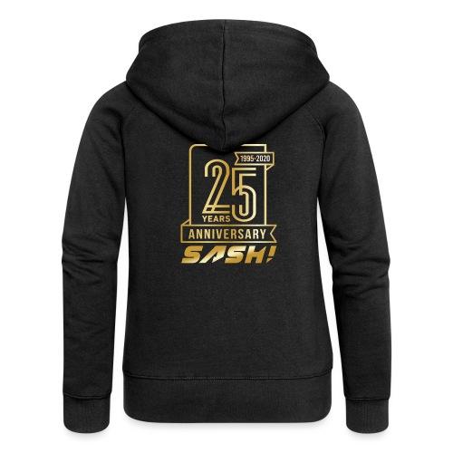 SASH! 25 Years Annyversary - Women's Premium Hooded Jacket