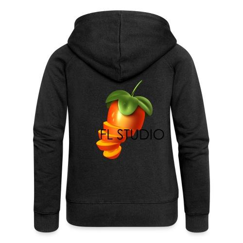Sliced Sweaty Fruit - Women's Premium Hooded Jacket