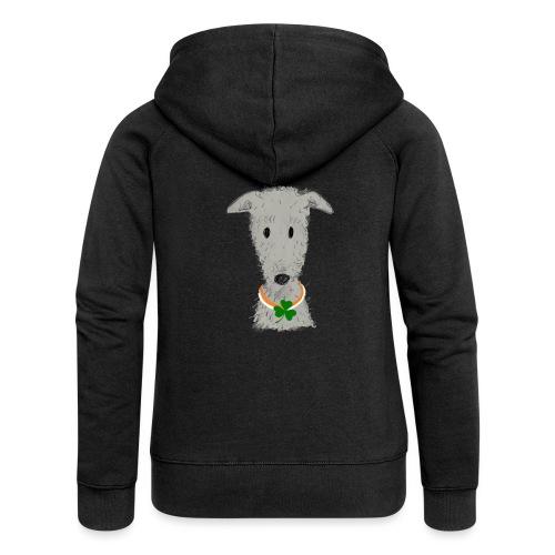Irish Wolfhound - Frauen Premium Kapuzenjacke