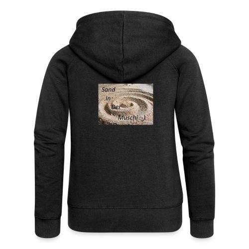 Sand in der Muschi - Frauen Premium Kapuzenjacke