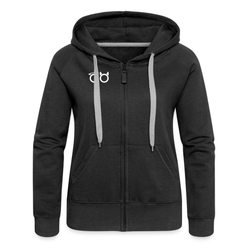 hvit svg - Women's Premium Hooded Jacket