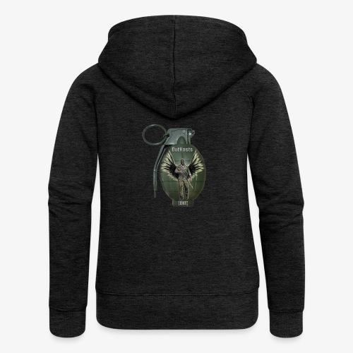 grenadearma3 png - Women's Premium Hooded Jacket