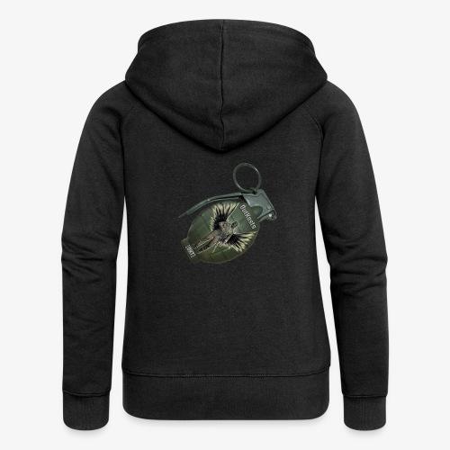 OutKasts Grenade Side - Women's Premium Hooded Jacket