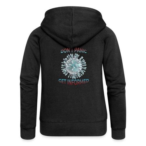 coronavirus - Chaqueta con capucha premium mujer