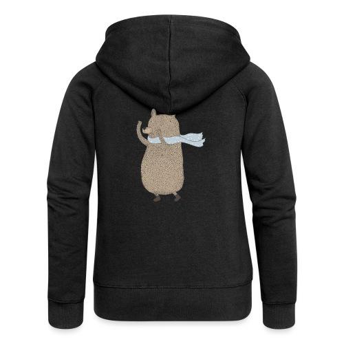 Fluffy Cuddle Bear by #OneCreativeArts - Frauen Premium Kapuzenjacke