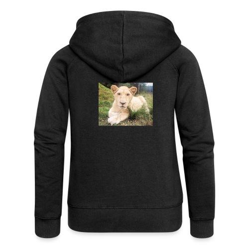10536 2Cmoomba groot - Women's Premium Hooded Jacket