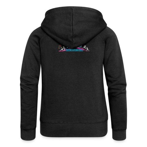 logo jugendarbeit_2016_sh - Frauen Premium Kapuzenjacke