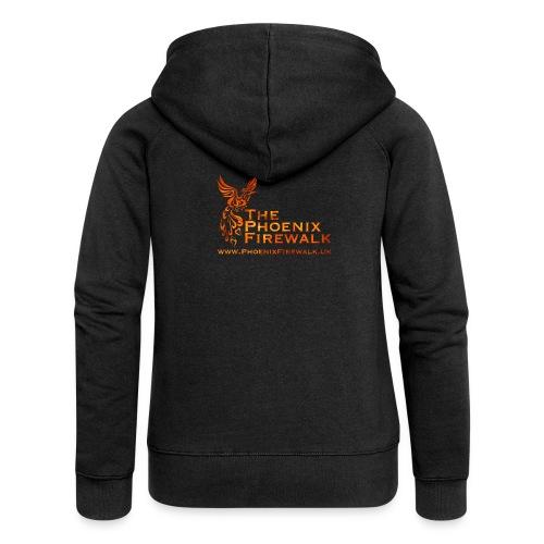Main Logo Web - Women's Premium Hooded Jacket