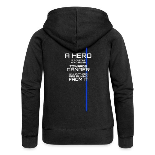 A Hero Tribute - Veste à capuche Premium Femme