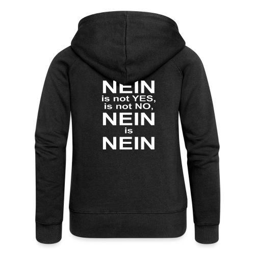 NEIN! - Women's Premium Hooded Jacket