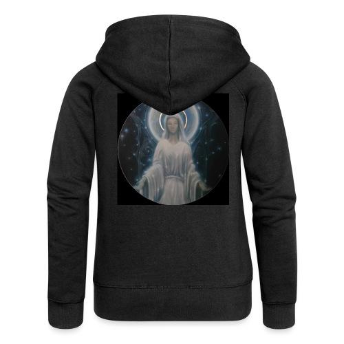圣母玛利亚 Notre Dame by Jean Libon (Noir) - Veste à capuche Premium Femme
