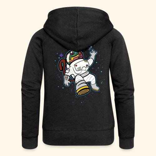 T-shirt Astronaut Monkey - Chaqueta con capucha premium mujer