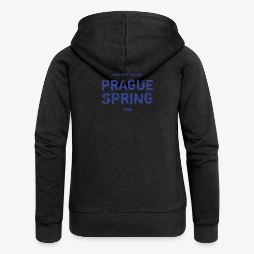 Prague Spring - Felpa con zip premium da donna