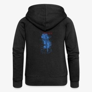 I believe / wierzę - Rozpinana bluza damska z kapturem Premium