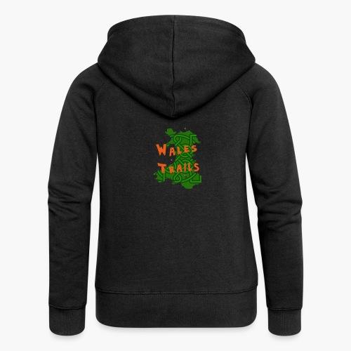 Wales Trails - Women's Premium Hooded Jacket