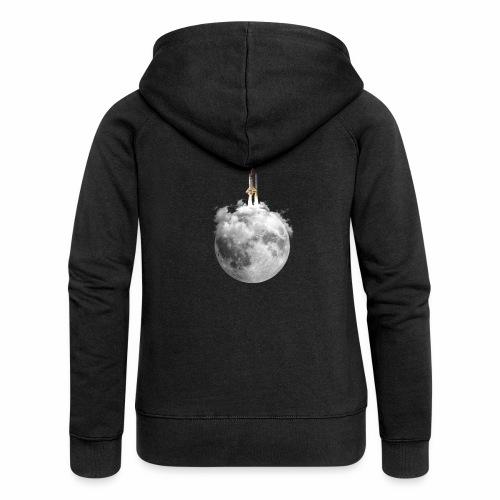 Mondrakete - Frauen Premium Kapuzenjacke