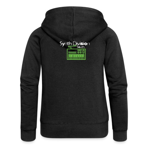 Synth Division South Logo - Women's Premium Hooded Jacket