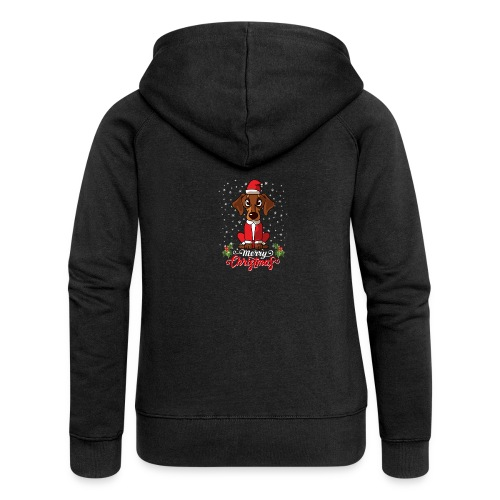 Dachshund Custome - Women's Premium Hooded Jacket