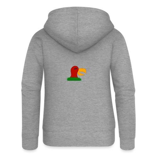 Parrots head - Women's Premium Hooded Jacket