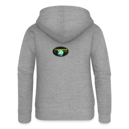 awesome earth - Women's Premium Hooded Jacket