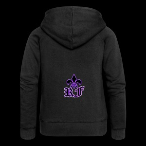 RF LOGO - Women's Premium Hooded Jacket