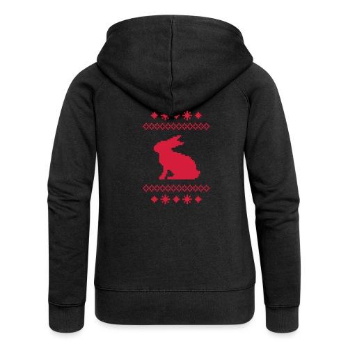 Norwegerhase hase kaninchen häschen bunny langohr - Frauen Premium Kapuzenjacke