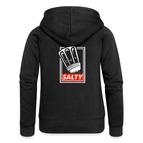 Salty white - Women's Premium Hooded Jacket