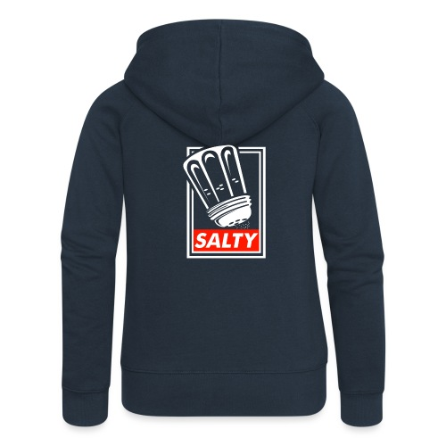 Salty white - Women's Premium Hooded Jacket