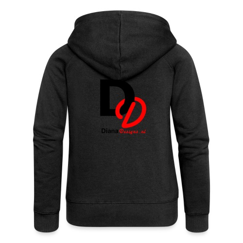logo_diana_designs-nl - Vrouwenjack met capuchon Premium