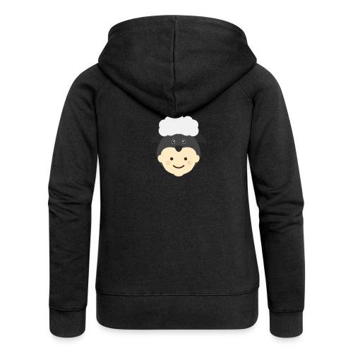 Nancy the Sheep | Ibbleobble - Women's Premium Hooded Jacket