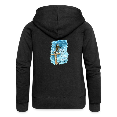 after the storm - Women's Premium Hooded Jacket