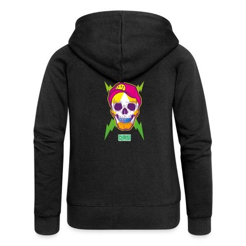 Ptb skullhead - Women's Premium Hooded Jacket