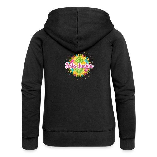 Encontro festa junina - Women's Premium Hooded Jacket