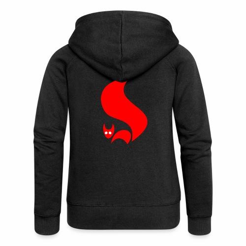Eichhörnchen - Frauen Premium Kapuzenjacke
