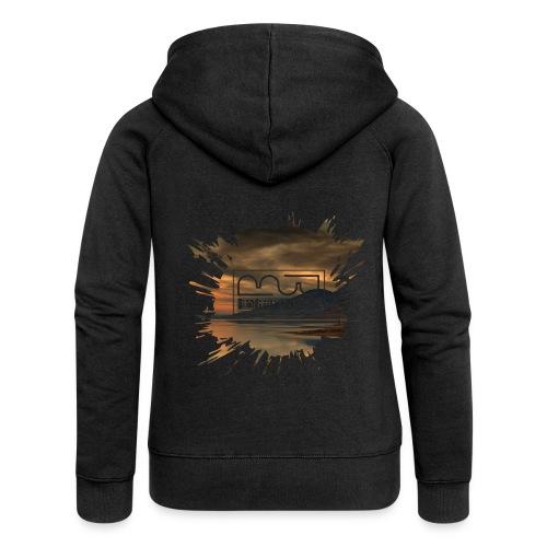 Men's shirt Splatter - Women's Premium Hooded Jacket