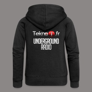 logo tekno1 2000x2000 - Veste à capuche Premium Femme