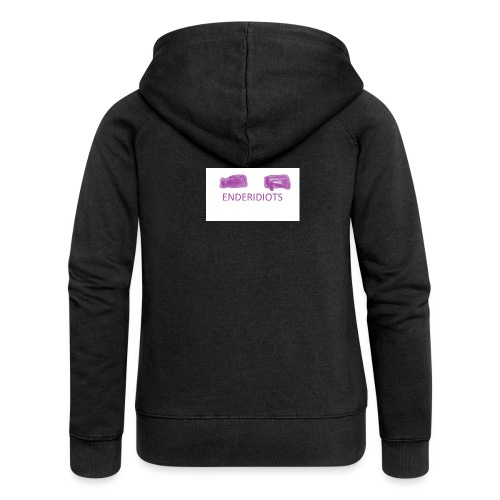 enderproductions enderidiots design - Women's Premium Hooded Jacket