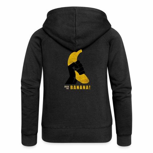 Join the Banana - Veste à capuche Premium Femme