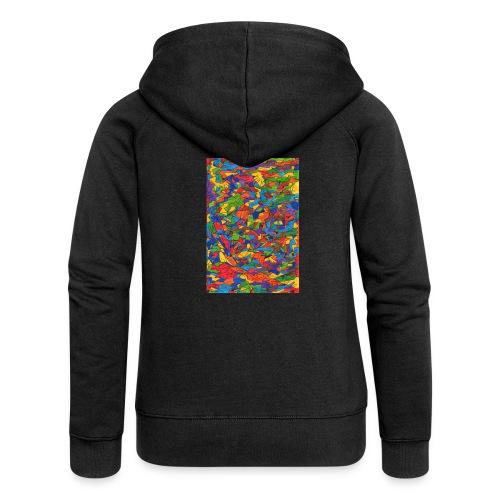 Color_Style - Chaqueta con capucha premium mujer