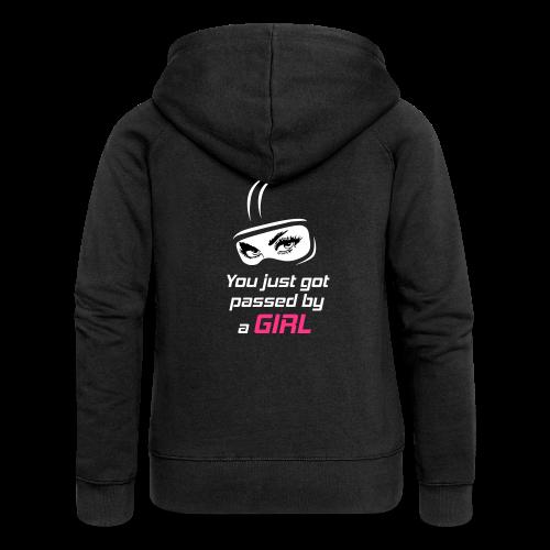 You Just Got Passed By a Girl - Naisten Girlie svetaritakki premium