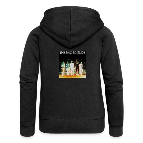 The Mojo Slide - Design 2 - Women's Premium Hooded Jacket